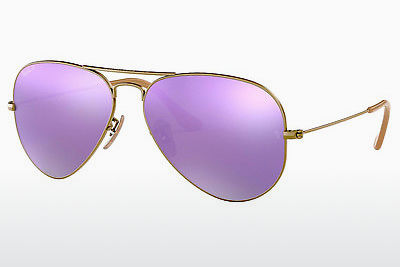 משקפי שמש Ray-Ban AVIATOR LARGE METAL (RB3025 167/1R) - חום