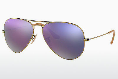 משקפי שמש Ray-Ban AVIATOR LARGE METAL (RB3025 167/4K) - חום