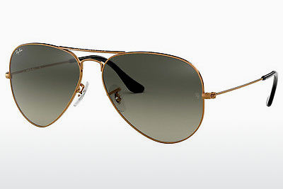 משקפי שמש Ray-Ban AVIATOR LARGE METAL (RB3025 197/71) - חום