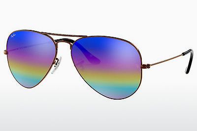 משקפי שמש Ray-Ban AVIATOR LARGE METAL (RB3025 9019C2) - אפור, חום