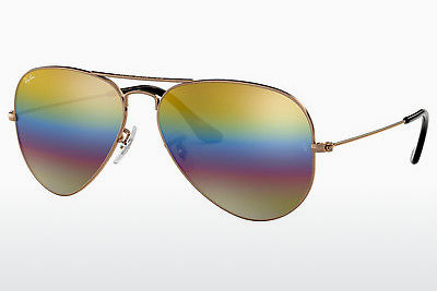 משקפי שמש Ray-Ban AVIATOR LARGE METAL (RB3025 9020C4) - אפור, חום