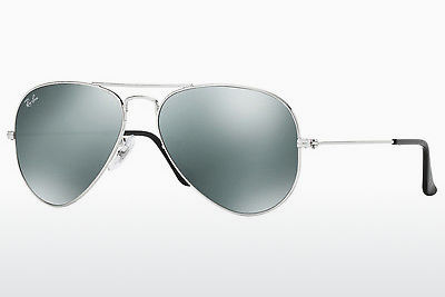 משקפי שמש Ray-Ban AVIATOR LARGE METAL (RB3025 W3275) - כסוף