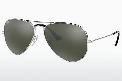 משקפי שמש Ray-Ban AVIATOR LARGE METAL (RB3025 W3277) - כסוף