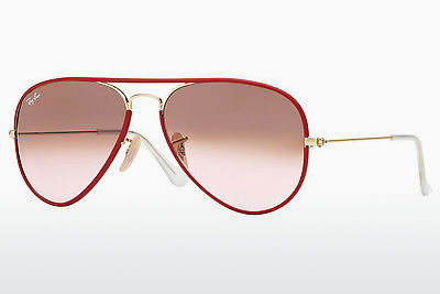 משקפי שמש Ray-Ban AVIATOR FULL COLOR (RB3025JM 001/X3) - זהב, אדום