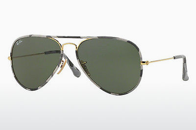 משקפי שמש Ray-Ban AVIATOR FULL COLOR (RB3025JM 171) - זהב