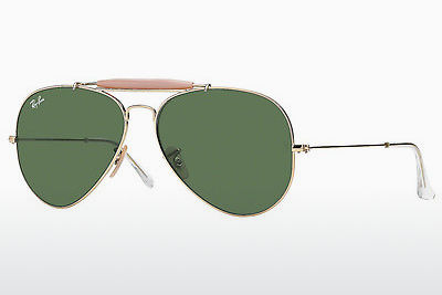 משקפי שמש Ray-Ban OUTDOORSMAN II (RB3029 L2112) - זהב