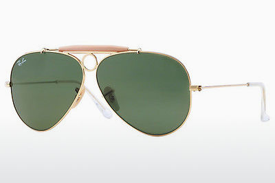 משקפי שמש Ray-Ban SHOOTER (RB3138 001) - זהב