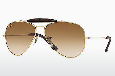 משקפי שמש Ray-Ban AVIATOR CRAFT (RB3422Q 001/51) - זהב
