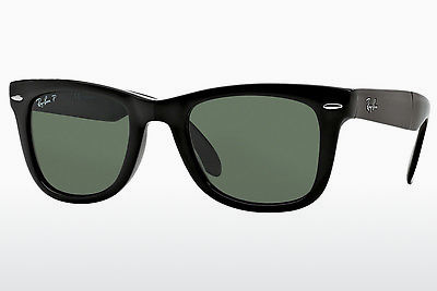 משקפי שמש Ray-Ban FOLDING WAYFARER (RB4105 601/58) - שחור