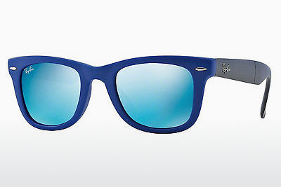 משקפי שמש Ray-Ban FOLDING WAYFARER (RB4105 602017) - כחול