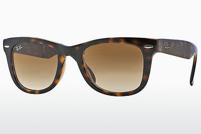 משקפי שמש Ray-Ban FOLDING WAYFARER (RB4105 710/51) - חום, הוואנה