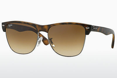 משקפי שמש Ray-Ban CLUBMASTER OVERSIZED (RB4175 878/51) - חום, הוואנה