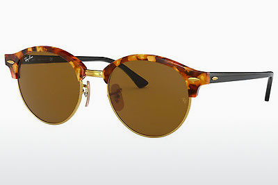 משקפי שמש Ray-Ban Clubround (RB4246 1160) - חום