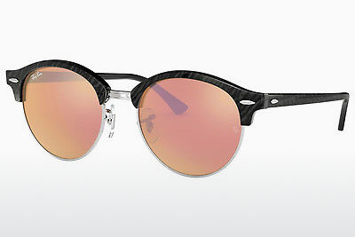 משקפי שמש Ray-Ban Clubround (RB4246 1197Z2) - שחור