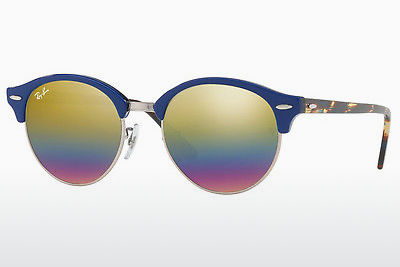 משקפי שמש Ray-Ban CLUBROUND (RB4246 1223C4) - אפור, חום
