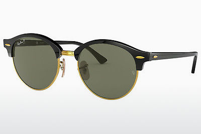 משקפי שמש Ray-Ban CLUBROUND (RB4246 901/58) - שחור