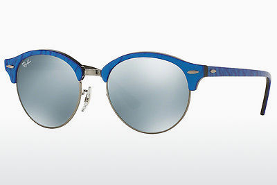 משקפי שמש Ray-Ban Clubround (RB4246 984/30) - כחול, שחור