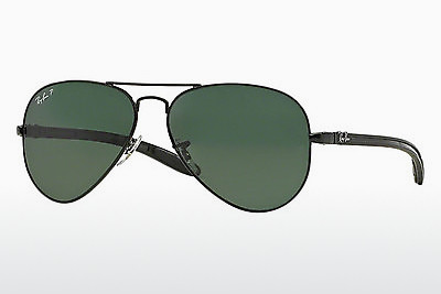 משקפי שמש Ray-Ban AVIATOR TM CARBON FIBRE (RB8307 002/N5) - שחור