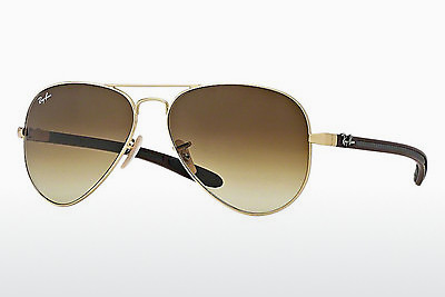 משקפי שמש Ray-Ban AVIATOR TM CARBON FIBRE (RB8307 112/85) - זהב