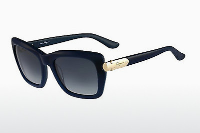משקפי שמש Salvatore Ferragamo SF763S 416 - ירוק, Dark, Blue