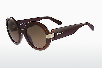 משקפי שמש Salvatore Ferragamo SF778S 210 - חום