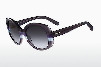 משקפי שמש Salvatore Ferragamo SF793S 025 - אפור, כחול