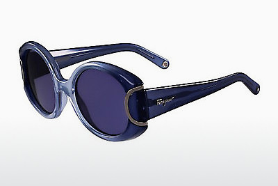משקפי שמש Salvatore Ferragamo SF811S SIGNATURE 450 - כחול