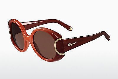משקפי שמש Salvatore Ferragamo SF811S SIGNATURE 811 - כתום