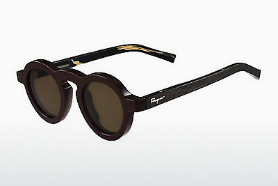 משקפי שמש Salvatore Ferragamo SF812S 604 - חום