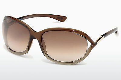 משקפי שמש Tom Ford Jennifer (FT0008 38F) - חום