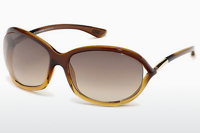משקפי שמש Tom Ford Jennifer (FT0008 50F) - חום