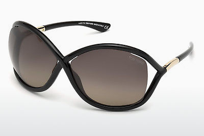 משקפי שמש Tom Ford Whitney (FT0009 01D) - שחור, Shiny