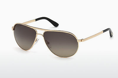 משקפי שמש Tom Ford Marko (FT0144 28D) - זהב