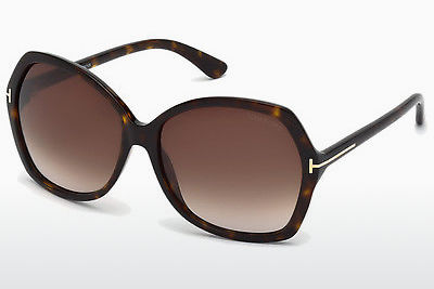 משקפי שמש Tom Ford Carola (FT0328 52F) - חום, Dark, Havana