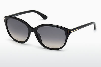 משקפי שמש Tom Ford Karmen (FT0329 01B) - שחור, Shiny