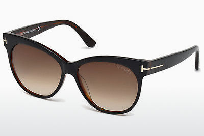 משקפי שמש Tom Ford Saskia (FT0330 03B) - שחור, Transparent