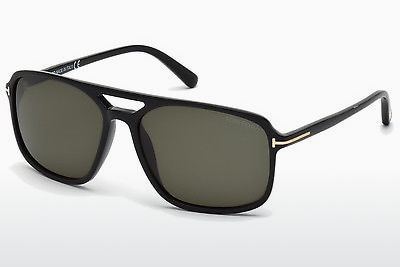 משקפי שמש Tom Ford Terry (FT0332 01B) - שחור, Shiny