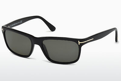 משקפי שמש Tom Ford Hugh (FT0337 01N) - שחור, Shiny