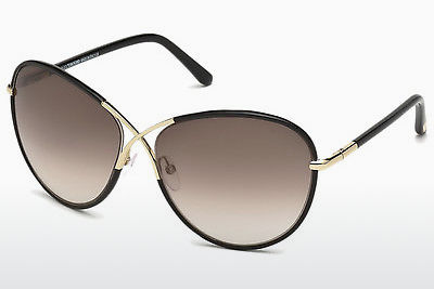 משקפי שמש Tom Ford Rosie (FT0344 01B) - שחור, Shiny