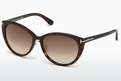משקפי שמש Tom Ford Gina (FT0345 52F) - חום, Dark, Havana