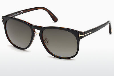 משקפי שמש Tom Ford Franklin (FT0346 01V) - שחור, Shiny