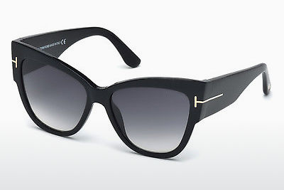 משקפי שמש Tom Ford Anoushka (FT0371 01B) - שחור, Shiny