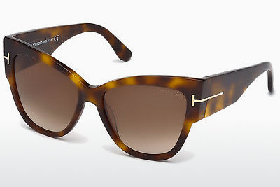 משקפי שמש Tom Ford Anoushka (FT0371 53F) - הוואנה, Yellow, Blond, Brown