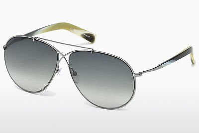 משקפי שמש Tom Ford Eva (FT0374 15B) - אפור, Shiny, Matt