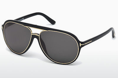 משקפי שמש Tom Ford Sergio (FT0379 01A) - שחור, Shiny