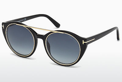 משקפי שמש Tom Ford Joan (FT0383 01W) - שחור, Shiny