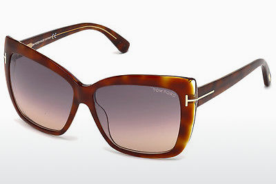 משקפי שמש Tom Ford Irina (FT0390 53F) - הוואנה, Yellow, Blond, Brown
