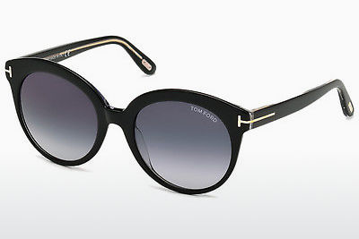 משקפי שמש Tom Ford Monica (FT0429 03W) - שחור, Transparent