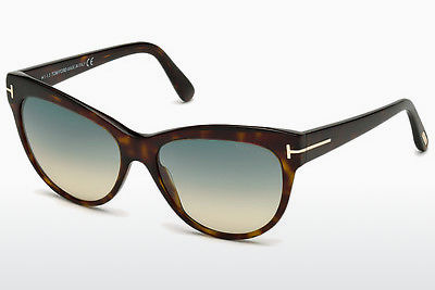 משקפי שמש Tom Ford Lily (FT0430 52P) - חום, Dark, Havana