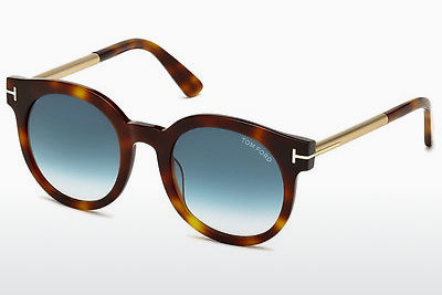 משקפי שמש Tom Ford Janina (FT0435 52P) - חום, Dark, Havana